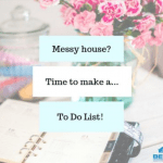cleaning to-do list