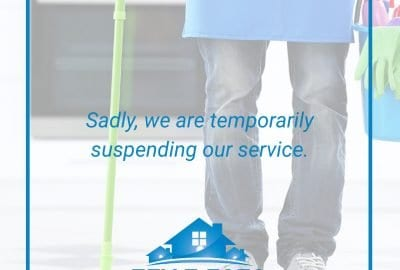 Sadly we're temporarily suspending our service